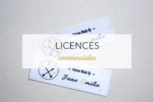 Licences couture Jane Emilie